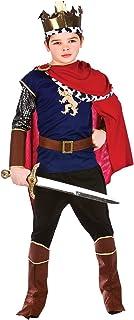 King Red Robe Crown Renaissance Medieval Royal Fairytale Book Week Mens Costume