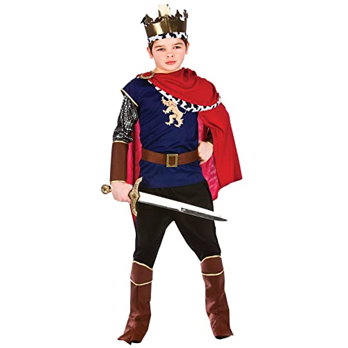 72cfc00430aba Deluxe Medieval King Boys Large (8-10 years) Fancy Dress Nativity Royal  Renaissance