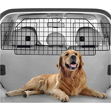 Headrest Pet Dog Mesh Guard Barrier Divider MREQLBL+HMSH3792 Mr E Saver/© Deluxe Quilted Heavy Duty Boot Protector