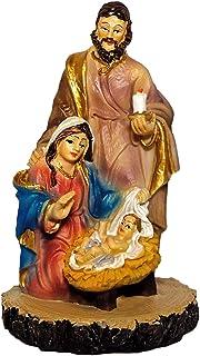 Kaltner Präsente–Regalo Idea–Figura de María José con Niño Jesús de la Sagrada Familia Belén–Belén (Pintado a Mano)