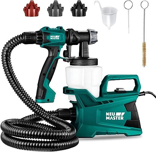 Paint Sprayer, NEU MASTER 600 Watt High Power HVLP Home Electric Paint...