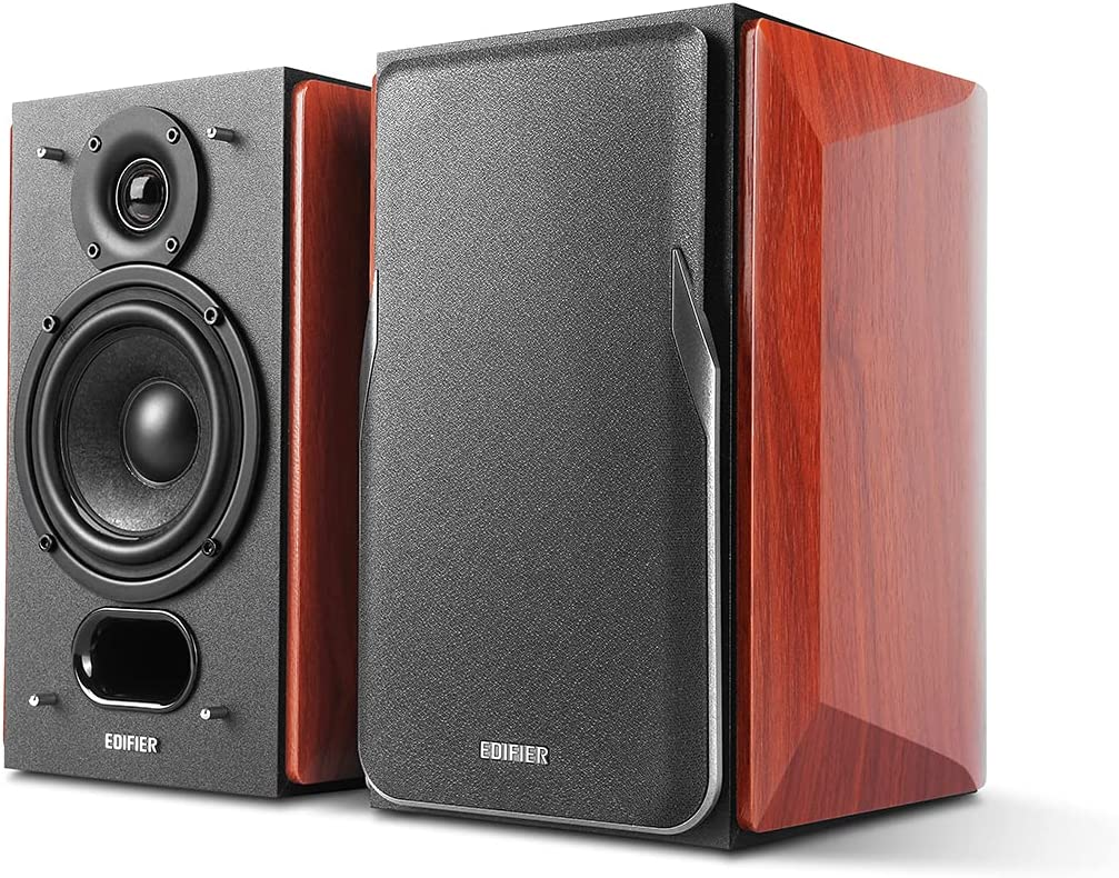Edifier P17 Passive Financial Same day shipping sales sale Bookshelf Speakers with 2-Way Bui -