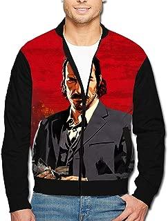 Men's Jacket Full-Zip Jacket Dutch Red Dead Red-EMP-Tion 2 3D Print Outdoor Zipper Sweatshirt Tops Coat