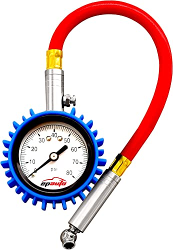 lowest EPAUTO Tire new arrival Pressure Gauge 80 PSI for Bikes Cars online Motorcycle outlet online sale