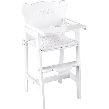 KidKraft 61111 Tiffany Bow Lil' Doll High Chair
