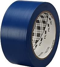 3M General Purpose Vinyl Tape 764, Blue, 2 in x 36 yd, 5 mil