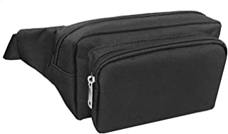 Fanny Packs for Men&Women Waist Bag Pack Hip Bum Bag with Headphone Jack and Adjustable Strap for Outdoors Workout Traveli...