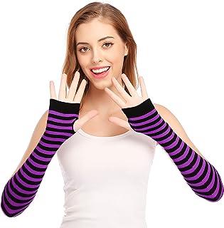 Best Punk Gothic Rock Long Arm Warmer Fingerless Gloves Review