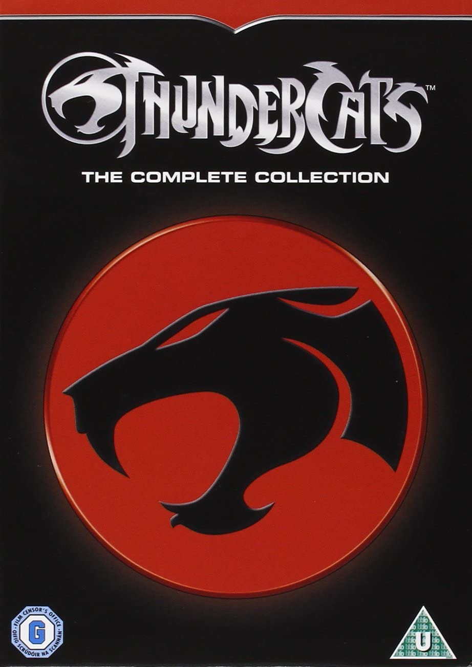 Thundercats Complete Collection DVD. 130 episodes (47 hours) of cartoon joy!