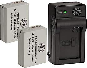 2in1 Kit de Cargador para CANON SX60 HS G 15 SX 50HS SX 50 HS