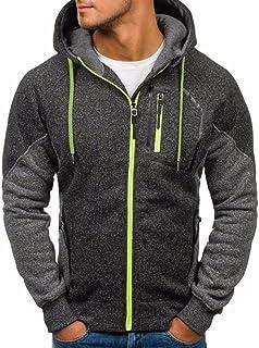 abcb856ce9 OHQ Pull Jacquard Sport Cardigan Cachemire pour Homme Nouveau Hommes  Outwear Hiver Hoodie Veste Manteau Chaud