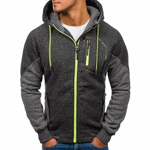 237f40d3b10 OHQ Pull Jacquard Sport Cardigan Cachemire pour Homme Nouveau Hommes  Outwear Hiver Hoodie Veste Manteau Chaud