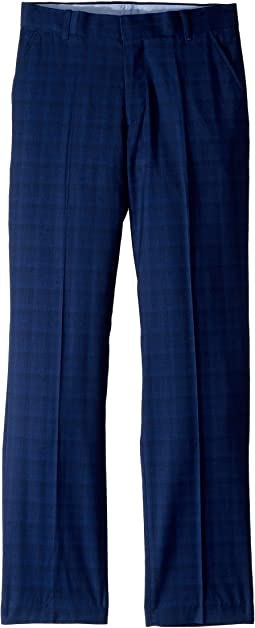 Stretch Shadow Plaid Pants (Big Kids)