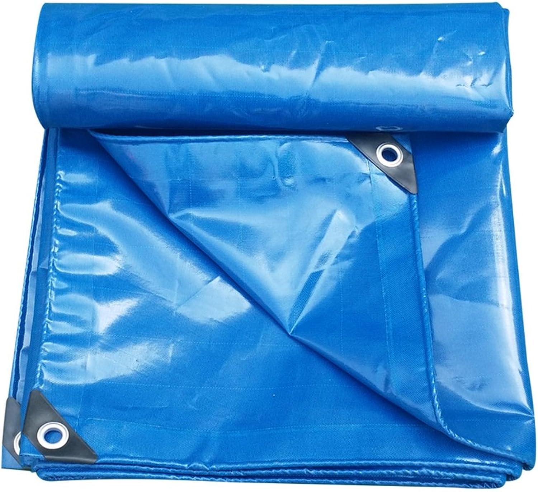 AJZXHE Plane verdoppeln doppelseitiges super Wasserdichtes LKW-Hallenstoffsonnenschutzabnutzungsresistentes rostfestes PVC, blau blau blau -Plane B07JG7S8DY  Gewinnen Sie hoch geschätzt c2a41c