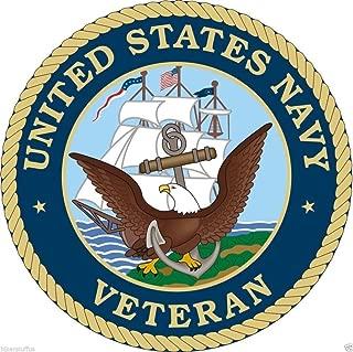 US Navy Veteran Sticker Toolbox Sticker Laptop Sticker Hardhat Sticker