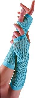 Adults Short & Long Fingerless Fisnet Gloves Raves Parties 1980s Fancy Dress - Pick & Mix