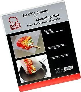 Chef Craft 21296 Flexible Cutting Sheet, Plastic, Clear