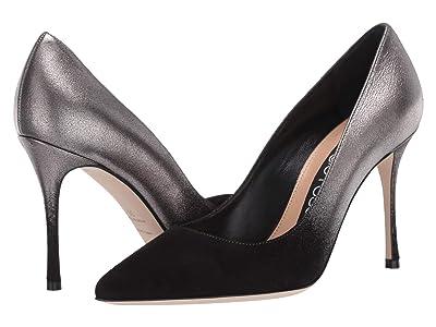 Sergio Rossi Godiva (Nero/Silver) High Heels