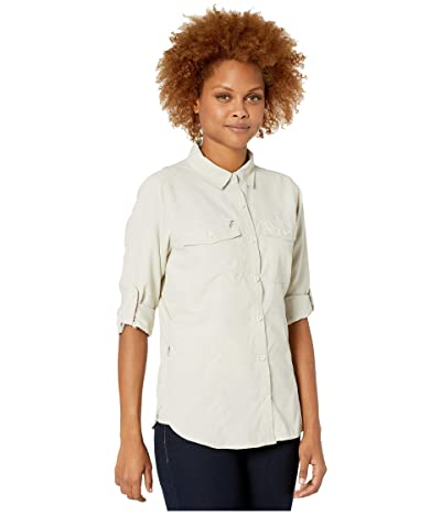 Royal Robbins Bug Barriertm Expedition Dry Long Sleeve Shirt (Soapstone) Women
