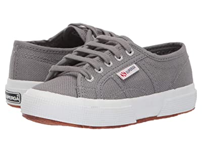 Superga Kids 2750 JCOT Classic (Toddler/Little Kid) (Grey Sage) Kids Shoes
