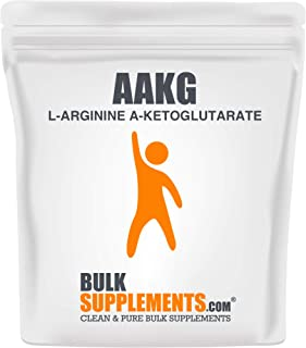 BulkSupplements L-Arginine a-Ketoglutarate (AAKG) Powder (500 Grams)