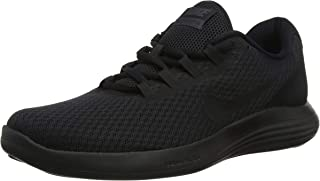 Men's Lunarconverge Running Shoe, Black/Anthracite, 8 D US