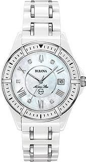 bulova marine star diamond watch for ladies