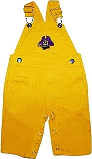 East Carolina University Pirates Baby Overalls
