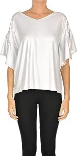 D.EXTERIOR Luxury Fashion Womens MCGLTPS0000B7055E Silver T-Shirt | Season Outlet
