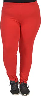 Stretch Is Comfort Women's Plus Size Oh So Soft Solid Leggings