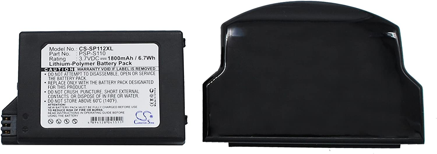 Replacement Battery Now free shipping for Clearance SALE! Limited time! Sony PSP-S110 Lite 2th PSP- PSP-2000 PSP