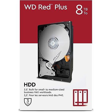 Wd Red Plus 8 Tb Nas 3 5 Interne Festplatte 7200 Rpm Computer Zubehör