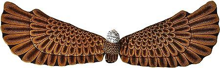 Rhode Island Novelty 鹰毛绒服装翅膀一对
