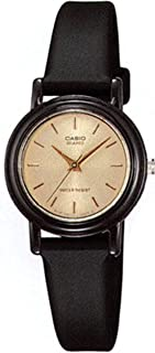 Casio Casual Watch Analog Display For Women Lq139Emv-9A, Black Band