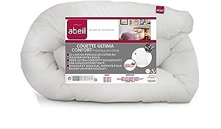 Abeil Premium - Couette Ultima Confort Percale de Coton 220 x 240 cm, fabriquée en France