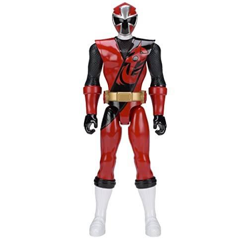 Amazoncom Power Rangers Ninja Steel 12 Inch Red Ranger Figure