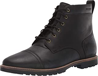 Men's Nathan Cap Boot:Black Fashion Boot