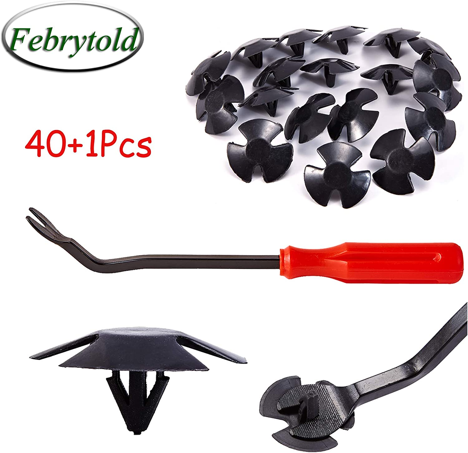 Febrytold Hood National products Insulation Retainer Clips - Insulatio Popular brand in the world Pcs 40