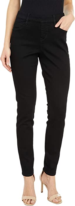 Bryn High-Rise Skinny Jeans in Black