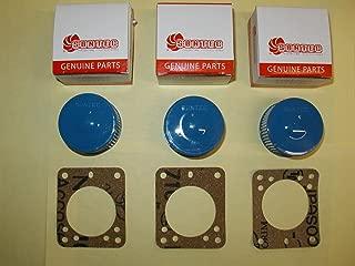 NEW 3 SUNTEC Strainer Kits, Beckett Oil Burner Pump Incds Gasket A2VA7116 A2EA6520