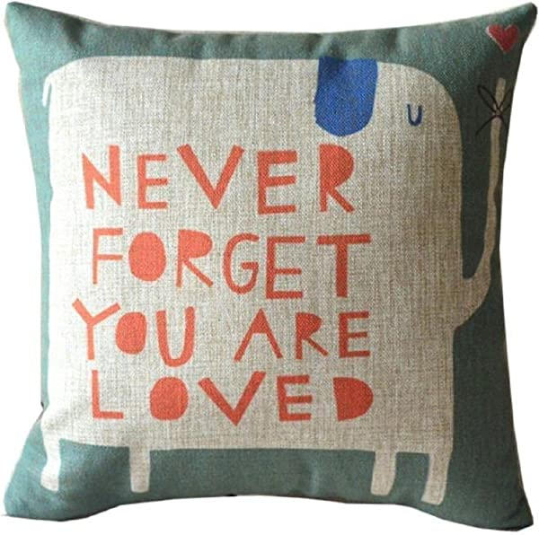 Pillow Case Vovotrade Linen Square Throw Flax Pillow Case Decorative Cushion Pillow Cover 45cmx45cm 17 7x17 7 A