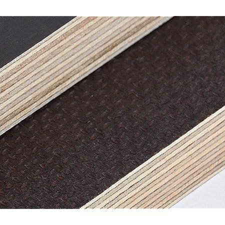 30x30 cm 18mm Multiplex Zuschnitt schwarz melaminbeschichtet L/änge bis 200cm Multiplexplatten Zuschnitte Auswahl