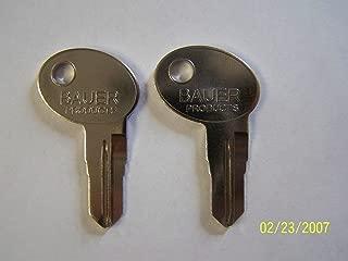 Bauer 2 OEM AE Camper Key Blanks