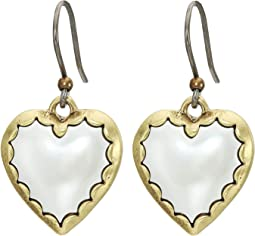 Heart Drops Earrings