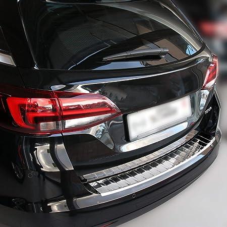 Recambo Ct Lks 1710 Ladekantenschutz Edelstahl Chrom Für Opel Astra H Caravan 2004 2010 Abkantung Large Auto