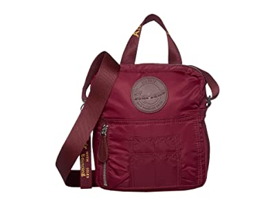 Dr. Martens Flight Super Mini Nylon Bag (Cherry Red Nylon) Shoulder Handbags