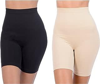 Patricia Womens Anti-Bacterial Hi-Waist Shapewear Underskirt Slip Shorts