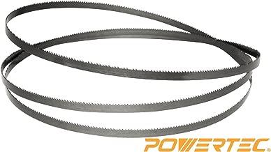 POWERTEC 13186X Band Saw Blade 70-1/2-Inch x 1/2-Inch x 3 TPI x 0.025