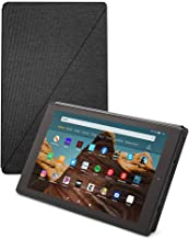 Fire HD 10 Tablet (32 GB, Black, With Special Offers) + Amazon Standing Case (Charcoal Black) + 15W USB-C Charger