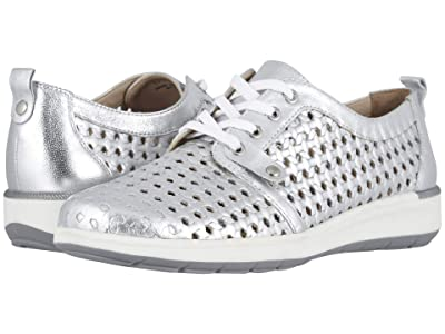 Walking Cradles Oasis (Bright Silver Leather) Women